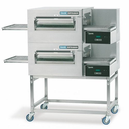id low oven machinery profile second lincoln pizza prod deck double gas hand conveyor al