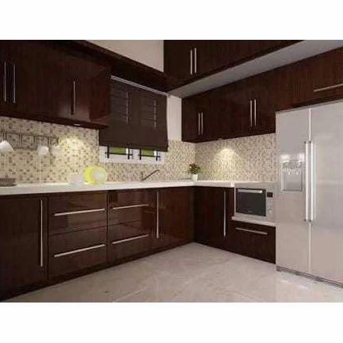 Glossy Modular Kitchen Contemporary Kitchen Designer Cromatica