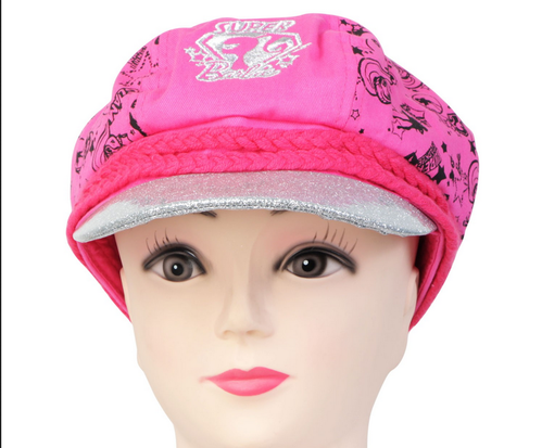 Rose CG100535 Girls Cute Printed Barbie Baseball Cap d472d4cbfe57