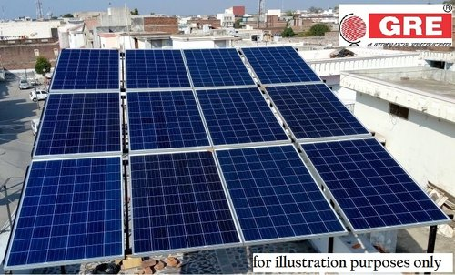 Grid Tie Gre 2 Kw Residential Solar Rooftop System Under Pgvcl Subsidy Id 21390440855
