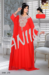 Red Trendy Farasha