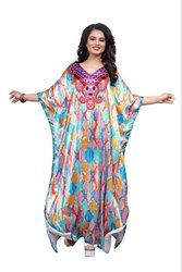 Printed Long Women Kaftan (JK4962)