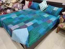 Indian Handmade Kantha Bedcover