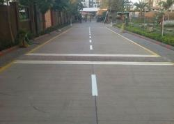 White Thermoplastic Road Marking Painting