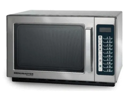 Stainless Steel Rectangular Commercial Microwave Menumaster RFS 511 TSW, Capacity: 35 L