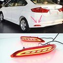 Rear Bumper LED Reflector Light For Honda City