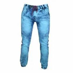 Blue Denim Mens Jogger Jeans, Waist Size: 36
