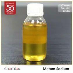 Liquid Disease Control Metam Sodium, Packaging Type: HDPE, For Agriculture
