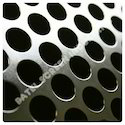 SS 304 Round Hole Perforated Sheets