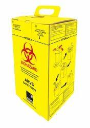 Sharp Safety Cardboard Box