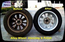 Alloy Wheel Cleaning & Polish