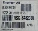 Bentone Burner Motor 125W Make Henning 230V 50 Hz IP40