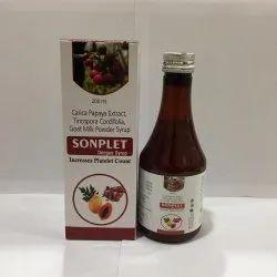 Carica Papaya Tinospora Extract Goat Milk Powder Syrup