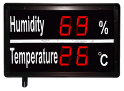 Humidity and Temperature Display