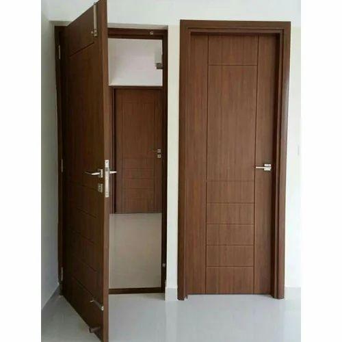 UPVC Bedroom Brown Door, Rs 12500 /piece, SYED DOORS | ID ...