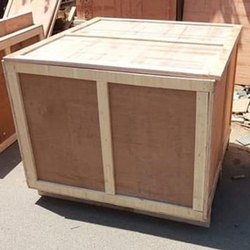 Light Weight Square Plywood Packaging Box, for Shipping, Box Capacity: 60-80 Kg