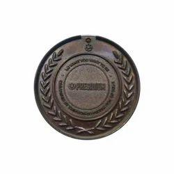 4 Mm Round Marathon Bronze Medal