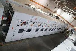 Main LT Power Control Center Panels