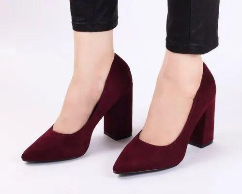 Partywear Classic Block High Heels