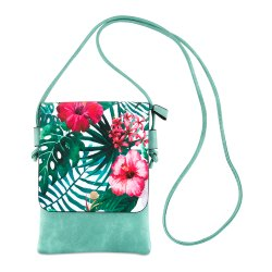 Vajero Turquoise Women Sling Bag for College