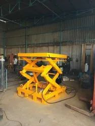 Flameproof Scissor Lift