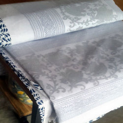 Hand Block Printed Three  Bed Comforter