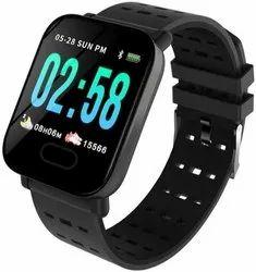 Digital Technical Guptaji A6 IP67 Waterproof Smart Watch (Black) for Daily