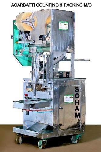 Automatic Incense Weighing And Packing Machine Agarbatti