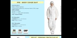 PPE Body CoverSuit