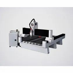 Semi-Automatic Stone Engraving CNC Router