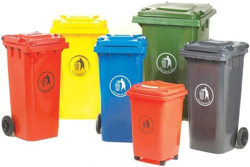 Plastic And Steel Dustbins Wheeled Dustbins Manufacturer