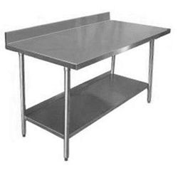 Stainless Steel Working Table, Dimension: Custom