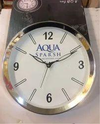 Golden Frame Promotional Wall Clock