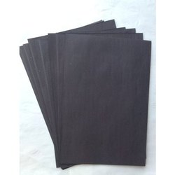 Black Handmade Paper Sheet, For Stationery, GSM: 80 - 120