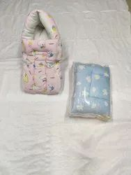 Blue Cotton Unisex Baby Sleeping Bags, Newly Born,3-12 Months