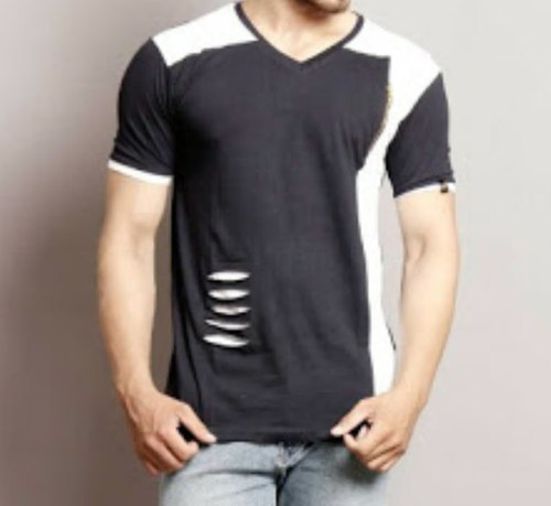 Design Man V Neck T Shirts At Rs 299 Piece Designer T Shirt Id 19061456148