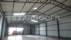 Industrial Roofing Commercial Shed