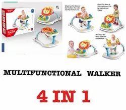 混合塑料多功能沃克玩具,年龄组:3-12个月