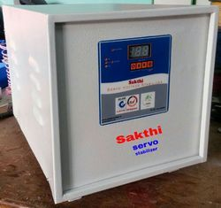 Automatic 98 % Single Phase Servo Stabilizer, 170 -270 V, 4 Kva