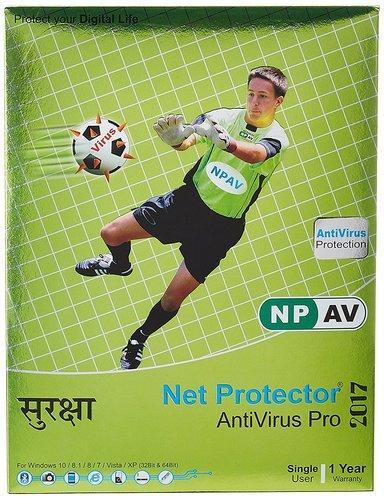 Npav Net Protector Anti Virus Pro 2017 1 Pc, 1 Year