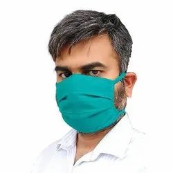 Reusable Cotton Face Mask, Number of Layers: 2