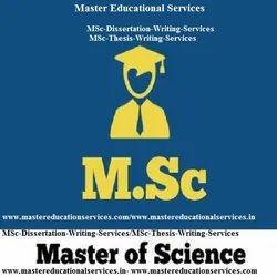 MSc Dissertation Writing Services