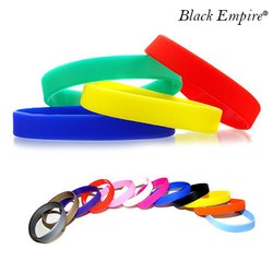 Plain Silicone Wristband