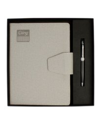 Branded Premium Executive Diary With Metal Pen