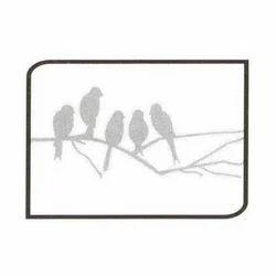 Bird Painting Stencil