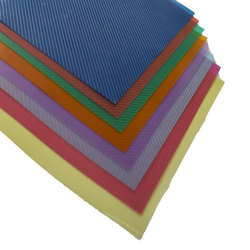 Plastic Transparent Classik Cross Line Binding Sheet (0.18 Mm)