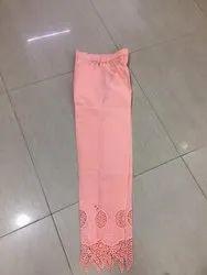Ladies Cotton Embroidery Pants