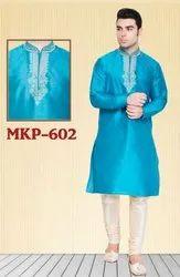 Mens Designer Indo Western Kurta Pyjama