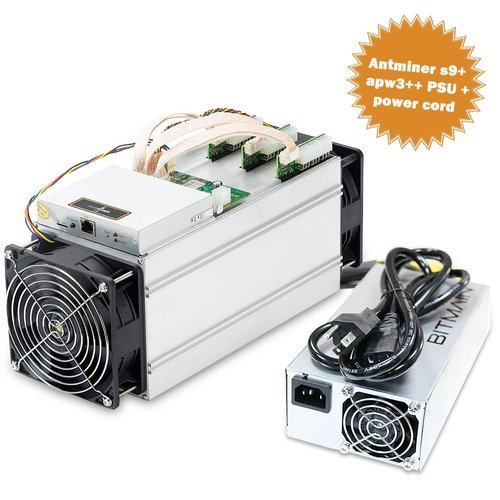 Antminer - Antminer S9 14 Th/s Bitcoin Miner With Bitmain Apw3 Power