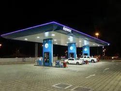 Petrol Pump Erection Work